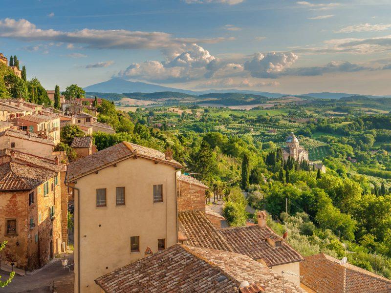 Montepulciano - Itinerari - territorio vicino Antica gabella