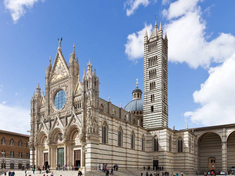 Siena - Itinerari - territorio vicino Antica gabella